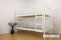 DENVER Single-Single Bunk Bed *2 Colors , Bedroom, NZ's Pioneering Online Furniture Shop with Lowest Prices
