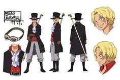[One Piece Film: Gold! Visual] Sabo, Chief of Staff of the Revolutionary Army. Siblings with the late Ace and Luffy, he ate the Mera-Mera no Mi.