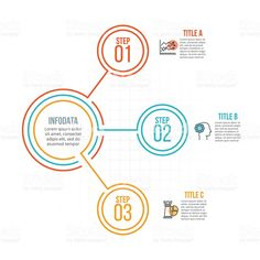 Business Infographic  Creative Concept For Infographic Timeline