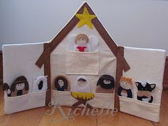 tutorial for nativity finger puppets ✭Teresa Restegui http://www.pinterest.com/teretegui/ ✭
