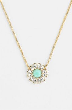 kate spade new york 'estate garden' pendant necklace