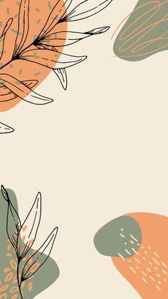 Ilustração feed floral, arte