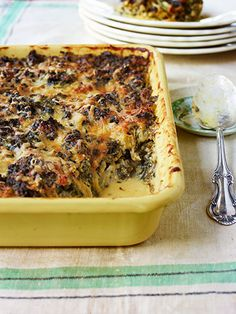 Creamed Kale Gratin: Instead of the expected spinach, kale delivers iron-rich goodness in an irresistibly gooey casserole.