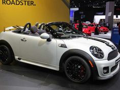 BMW 2013 Mini Roadster. Compact Drop-Top.  Maybe in two years but in a different color.