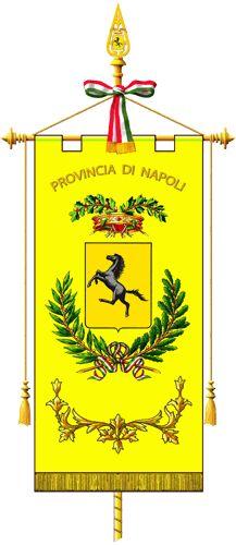 Gonfalone della provincia di Napoli