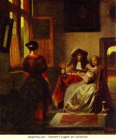 Pieter de Hooch. Concert. 1680