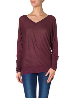 MOMO LS BAT TOP - REP  veromoda 21€!