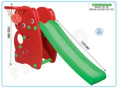 Kids slides made of high quality raw materials available at reasonable price can be purchased from www.playgroindia.com
