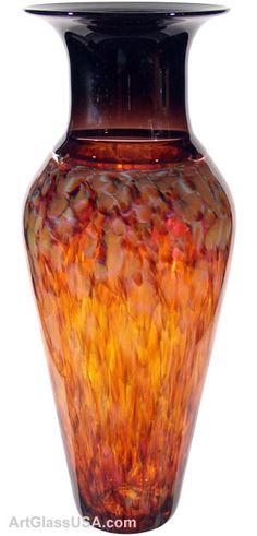 David Leppla: Safari series glass vases & platters