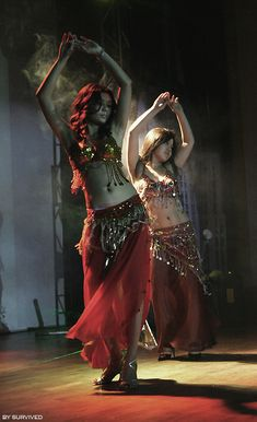Belly dancers...