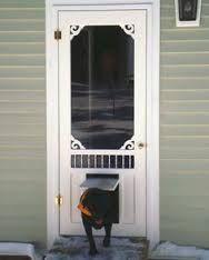 screen doggie door