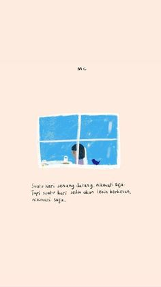 Menikmati hidup Quotes Rindu, Poetry Quotes, Cute Quotes, Daily Quotes, Book Quotes, Words Quotes, Qoutes, Beautiful Quotes From Books, Quotes Galau