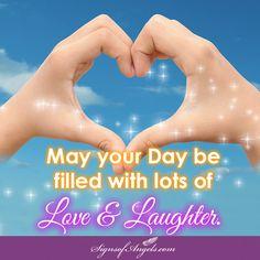 Sending you blessings for today.  ~ Karen Borga, The Angel Lady