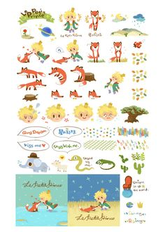 The little prince and fox on Behance