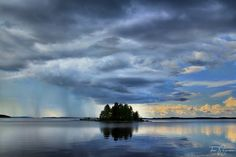 Lake Pielinen in North Karelia, Finland