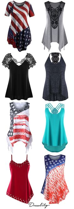 Browse our range of for Women. You will always find the latest trends and styles at Dresslily. Shop online or in-store.July 4th American Flag Tee & T Shirt.