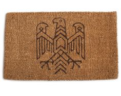 Eagle Door Mat $45.00 USD Sometimes it's good to keep the outdoors, well, outdoors. Our hand-made and screened doormats are a functionally d...