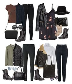 """Ashton Irwin Inspired Outfits with Combat Boots"" by fivesecondsofinspiration ❤ liked on Polyvore featuring Yves Saint Laurent, rag & bone, MANGO, Mulberry, Topshop, H&M, Carven, Brixton, Brooks Brothers and Vince"
