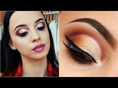 Cranberry & Copper CUT CREASE || Bh Cosmetics Special Occasion palette - YouTube