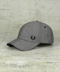 df95b66ceba Fred Perry - Chambray Constructed Baseball Cap Fred Perry Cap