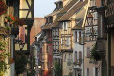 Riquewihr, village of the Ribeauvillé Riquewihr region in Alsace (France)