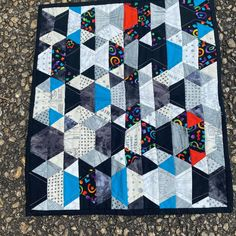 I just received my Mini Disco quilt swap from my partner.  I absolutely it.  Thank you so much  @donnab_aviation_quilting !! #pensacolamqg  #quiltstory2020  #jaybirdquilts  #minidiscoquilt Jaybird Quilts, Thank You So Much, Aviation, Studios, Quilting, Blanket, Mini, Instagram, Air Ride