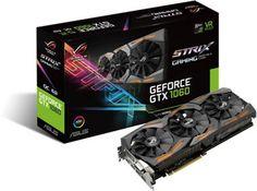 ASUS GeForce Strix GTX1060-O6G-GAMING - 6GB