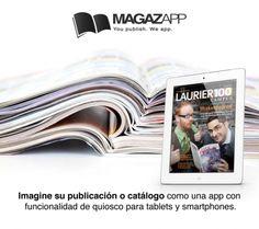 MAGAZAPP #Eurekas! Imagina tu revista o catálogo como una app propia para tablets, smartphones y web