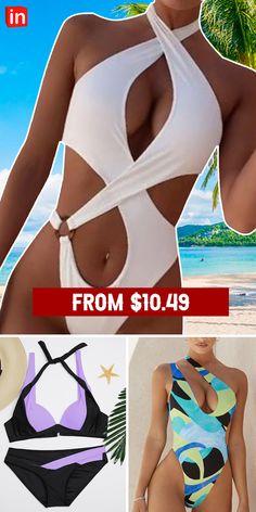 Ladies Frock Design, Swimsuits, Bikinis, Swimwear, Jolie Lingerie, Bikini Outfits, Black White Fashion, Pretty Lingerie, Summer Wear