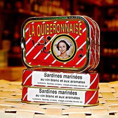 Sardinen in Muscadet, La Quiberonnaise