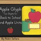 Back to School Glyph of an apple that works as a name tag too. Use this classroom management method to help keep track of how your students will go...