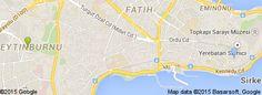 Bu kullanıcının yaşadığı yerlerin haritası