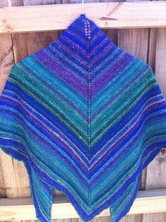 Ravelry: Project Gallery for Simple Yet Effective Shawl (fingering weight) pattern by Laura Chau