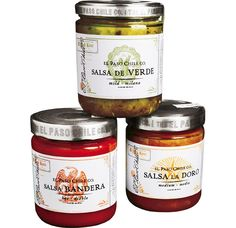 Mexican salsa and fajita packaging labels