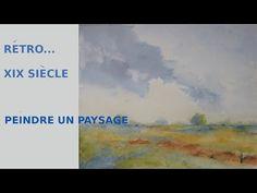 PEINDRE UN PAYSAGE A L' AQUARELLE ! DYNAMISER SON TRAIT... - YouTube The Creator, Map, Crayons, Gouache, Watercolor Painting, Pastels, Youtube, Journal, Crochet