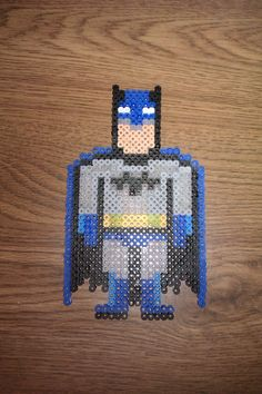 Batman perler beads by PixelHeroes