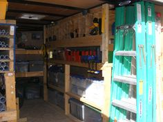 New enclosed trailer on order, show me how you set up your layout for tool storage.
