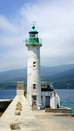 Propriano Lighthouse, Corsica, Italy- by Joule Yan