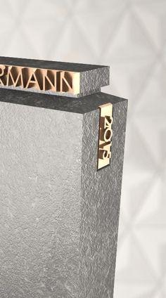 Grabstein Detail Modell Vela   Naturstein Granit Nero Assoluto   Modernes Design by Designwerk Daniel Schnettka