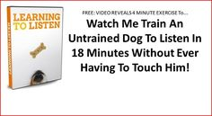 Utilize Dog Hand Signals In Your Training - TheDogTrainingSecret.com
