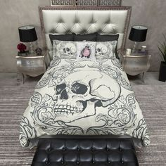 Swag Skull Duvet Bedding Sets