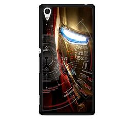 Iron Man Mask Poster TATUM-5665 Sony Phonecase Cover For Xperia Z1, Xperia Z2, Xperia Z3, Xperia Z4, Xperia Z5