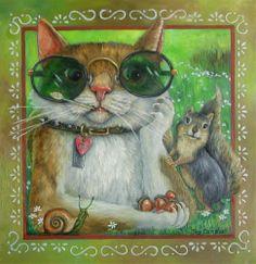 Pinzellades al món: Els gats il·lustrats per Joy Campbell / Los gatos ilustrados por Joy Campbell / Cats illustrated by Joy Campbell