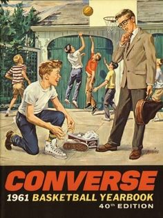 Vintage Converse sneakers Ad Advert