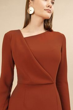 Elegant Outfit, Classy Dress, Classy Outfits, Elegant Dresses, Cute Dresses, Casual Dresses, Short Dresses, Dresses For Work, Hijab Fashion