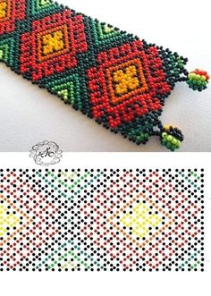 Bead Loom Patterns, Beaded Jewelry Patterns, Peyote Patterns, Bracelet Patterns, Beading Patterns, Bead Loom Bracelets, Beaded Crafts, Seed Bead Jewelry, Beading Tutorials