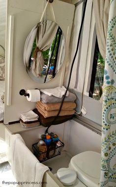 Pop Up Camper Indoor Shower Pop Up Camper Bathroom Pinterest
