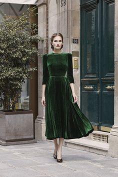 Ulyana Sergeenko коллекция | Коллекции осень-зима 2017/2018 | Париж | VOGUE