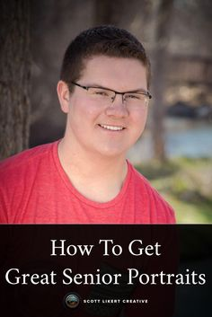 How to get a great senior portrait.