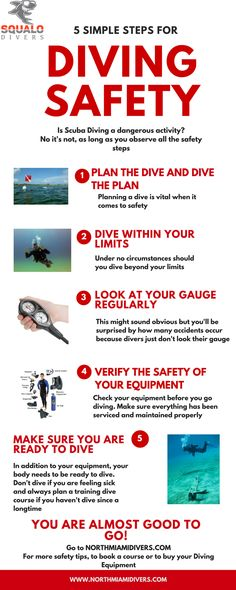 Diving is an amazing opportunity to venture into a new territory and discover hidden beauty unseen by the naked eye. But a thrilling dive is not worth your life. Don't dive recklessly. Research precautions or take a PADI class with Squalo Divers to ensure a safe and fun swim!   #SqualoDivers #PADI #scuba #diving ##safety #besafeunderwater